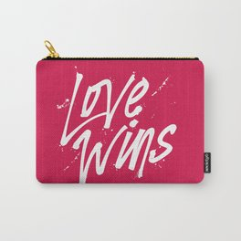 Love Wins Carry-All Pouch