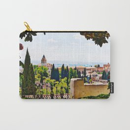 Alhambra Gardens - Granada, Spain Carry-All Pouch