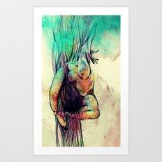Birth Art Print