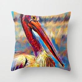 Pelican 4 Throw Pillow