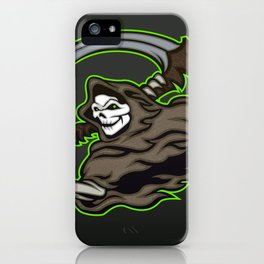 grim reaper ,grim reaper tattoos iPhone Case