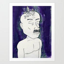 Heaviness#4 Art Print
