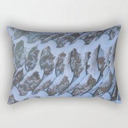 Frozen abstract Rectangular Pillow