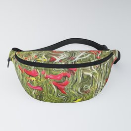 Poisoned Poppies Fanny Pack