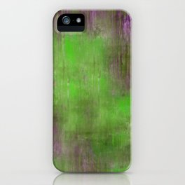 Green Color Fog iPhone Case