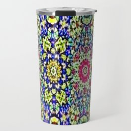 A Spring Flower Garden Travel Mug