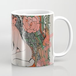 Two Sisters II: Bird of Paradise & Blood Orange Coffee Mug