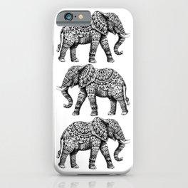 Ornate Elephant 3.0 iPhone Case