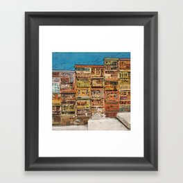Hollywood Road Framed Art Print