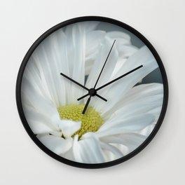 Daisy Blues Nature Photo Print, Daisy Art, Daisy Flowers, Floral Prints, Nature Photography, Macro Wall Clock