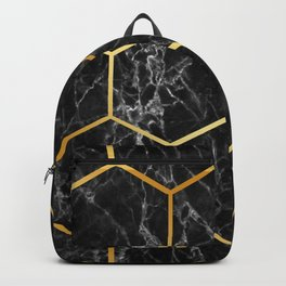 Honeycomb marble Backpack