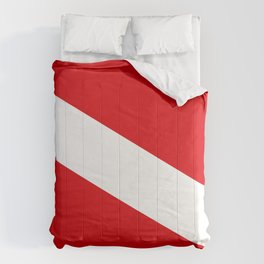 Diving flag Comforters