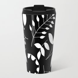Laurels - Black & White Travel Mug