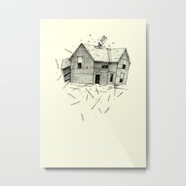 home blown Metal Print