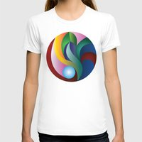 tulip T-shirts featuring Tulip by Janelle McCarthy