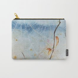 Autumn Webs Watercolor Painting Carry-All Pouch