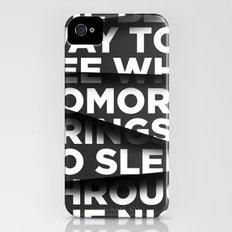 Sleep Through The Night iPhone (4, 4s) Slim Case