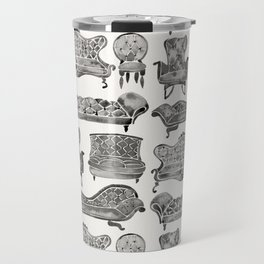 Victorian Lounge – Black Palette Travel Mug