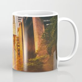 NYC Skyline Sunset Coffee Mug