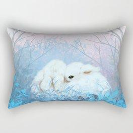 Baby Bun Buns at Dusk Rectangular Pillow