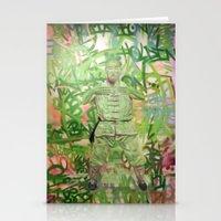 meditation Stationery Cards featuring Meditation by Michael Hammond
