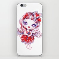 valentina iPhone & iPod Skins featuring Valentina by Sandra Vargas