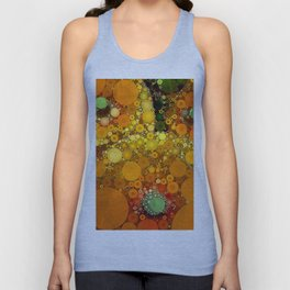 Sunset Poppies Unisex Tank Top