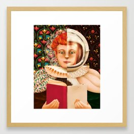 History of the Book Framed Art Print