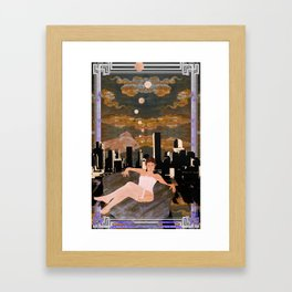 Denber Lady ver.1 Framed Art Print