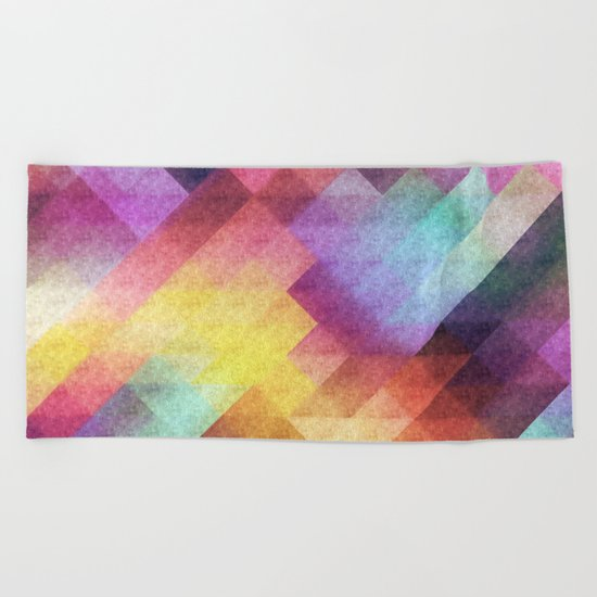 Pattern 8 Beach Towel