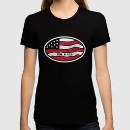 Born in the USA Patriotic Graphic T-shirt T-shirt