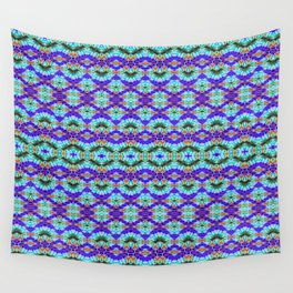 Feathery Tie Dye Wall Tapestry