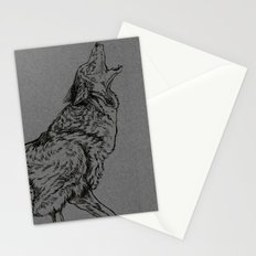 Coyote (DirtyDecibels) Stationery Cards