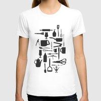 kitchen T-shirts featuring Kitchen by ValD