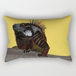 iguana gold Rectangular Pillow