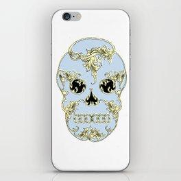 Rococo Skull iPhone Skin