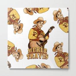 Merle Travis Metal Print