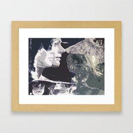 Mirror/Image Framed Art Print