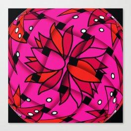 weaved flowers Canvas Print