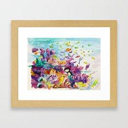 Biscayne National Park Framed Art Print