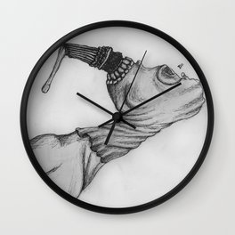 The Accident Became Her Wall Clock