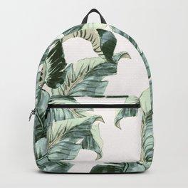 Tropical Banana Leaves Backpack