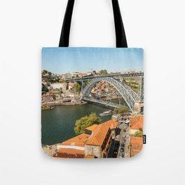 Porto Panoramic Tote Bag