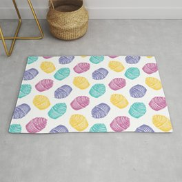 cute pop art cupcakes Rug