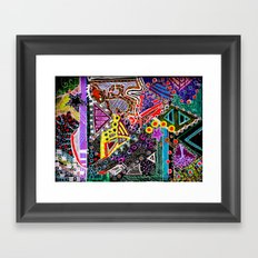 Perpetually Foreign (Kuwait/Seattle/C-Bus) Framed Art Print