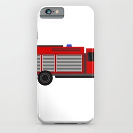 fire truck iPhone Case