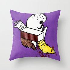 Lifes Throw Pillow