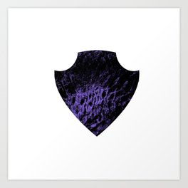 Corrupted Shield Art Print
