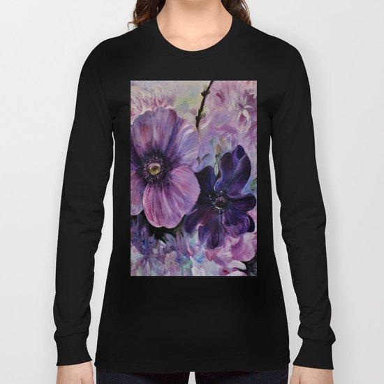 Bleu de printemps Long Sleeve T-shirt