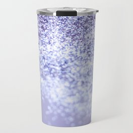 Sparkling Violet Glitter #1 #sparkling #decor #art #society6 Travel Mug